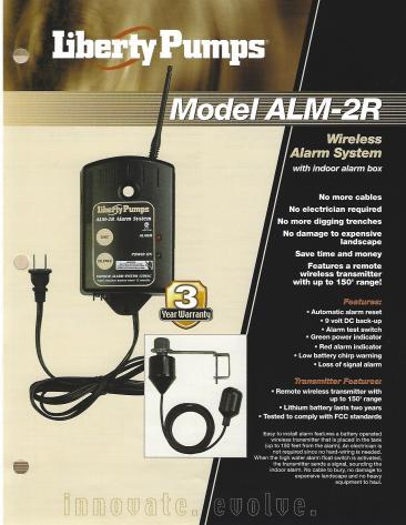 Model ALM-2R Alarm System_0001
