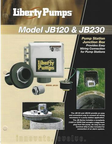 Model JB120 n JB230 Junction Box_0001