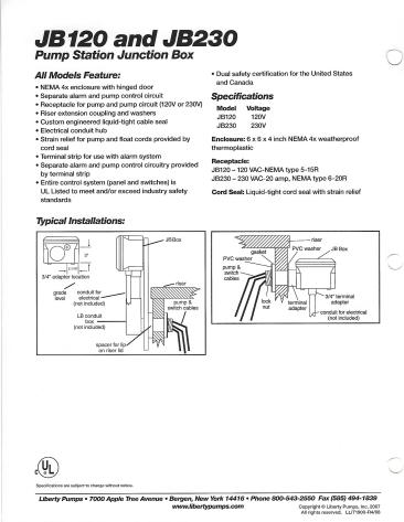 Model JB120 n JB230 Junction Box_0002